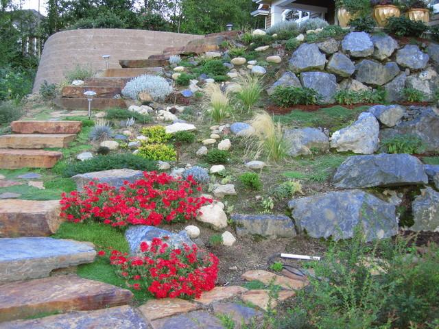 Enviro landscaping plus llc for Rockery designs for small gardens